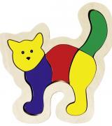 Cat, Wooden Puzzle