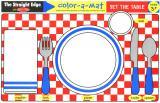 Set the Table Color-A-Mat