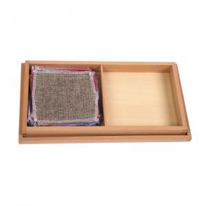 Fabric Box with Different Fabrics